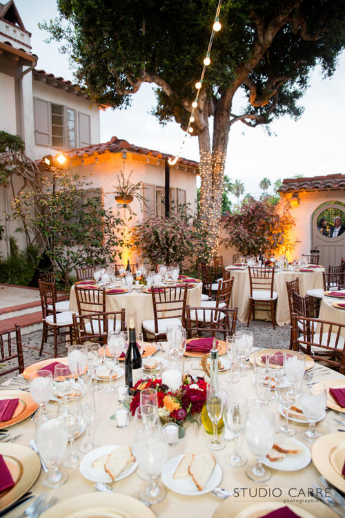 Early Autumn Wedding, Dining Under the Stars - Crown Point Catering