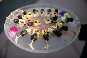 Blueberry Caprese Skewer